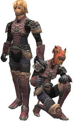 Meghanada leather armor +2 set