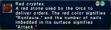 Red cryptex